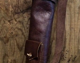 Basic Leather Archery Quiver