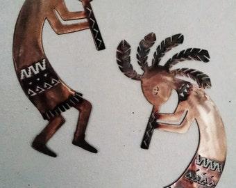 Kokopelli Wall Art kokopelli wall art | etsy