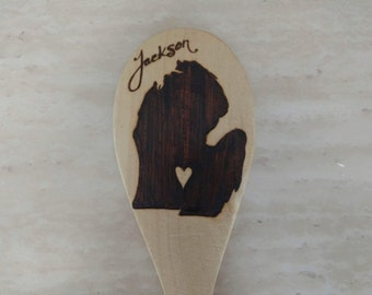 Michigan Hometown Wooden Spoon