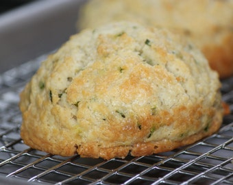 Gluten Free Biscuits (Cheddar & Chive) - 3 per order