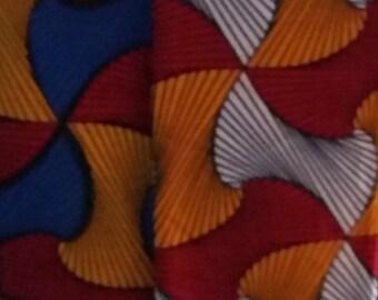 African Fabric, Ankara Print, AFRICAN MULTICOLORED Ankara, African Print, Ankara Fabric