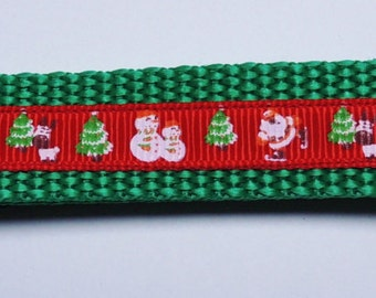 Medium Christmas Dog Collar