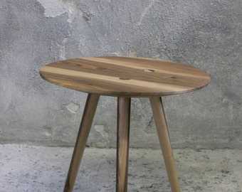 Large IDA - side table, occasional table, stool - Walnut