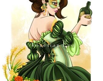 Green Fairy - Print