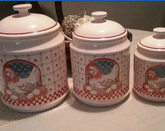 Chicken Canister Set