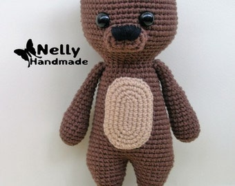 Mika the Bear, Crochet amigurumi toy