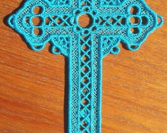 Lace Cross Bookmark