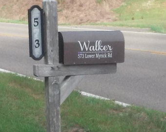 Mailbox Signs