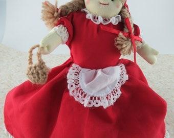 Flip Red Riding Hood Doll Wolf Grandma 3 in 1 By Alma's Designs