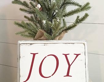 Small JOY Sign