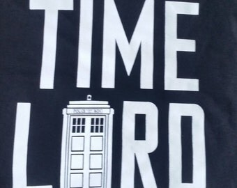 Doctor Who t-shirts, TIME LORD