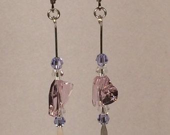 Swarovski Rosaline Heart Earrings