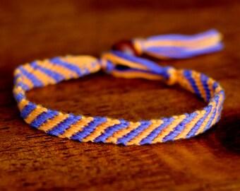 Summer Sunset friendship bracelet