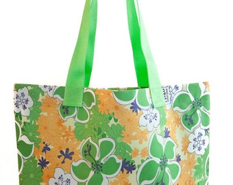 April Showers Tapered Tote