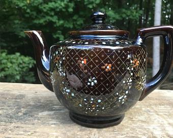 Vintage Japan Redware Teapot