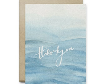 Thankyou Blues Greeting Card