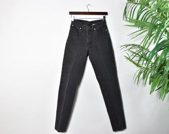 Vintage Black JORDACHE High Waisted Jeans