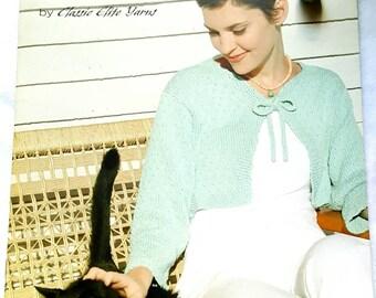 """2005 Classic Elite Yarns """"Farm"""" Knitting Pattern Book Brand New Mint"""