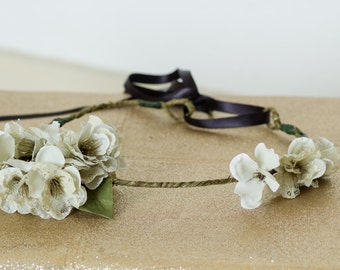 Simply Natural Flower Crown