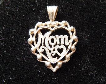 Mom pendant 925 silver