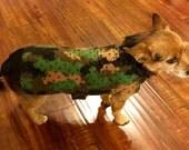 Custom Small Dog Fleece Coat / Jacket 3-10 pounds