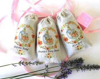 Peter Rabbit Flopsie Mopsie Baby Shower LAVENDER SACHET Party Favors   Beatrix Potter   Gifts   Girl Baby Shower   One Year Birthday 24