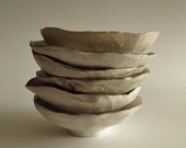 set of 6 dipping bowls by olivia jeffries
