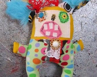 Primitive Folk Art Doll Chibbles