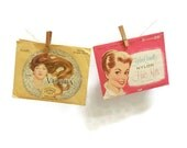 Vintage Hair Nets In Packages | Two Packages Hairnets | Nets With gems