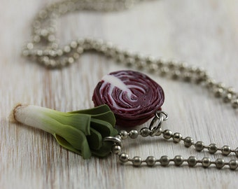 Into Veggies Necklace