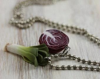 Into Veggies Necklace