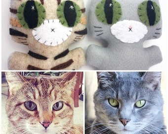 Custom Kitty - A Needlings Minou Kitty That Looks Like Your Own Furbaby