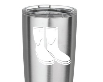 Shrimp Boot Decal Vinyl Decal for Yeti Cups RTIC cups Yeti tumblers RTIC tumbler Car iPads Computer or Whatever other Surface you can Find!!