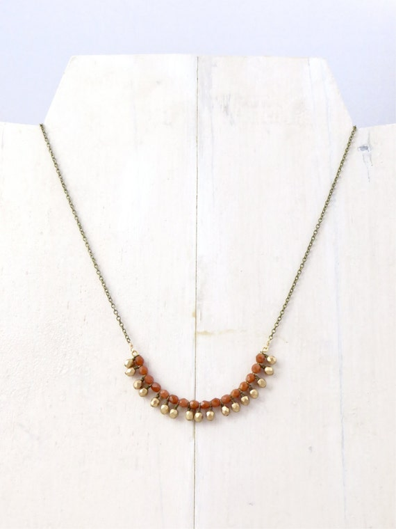 Gold Necklace // Bauble Necklace // Chain Necklace // Simple Necklace // Classic Necklace // Layering Necklace // Gifts For Her