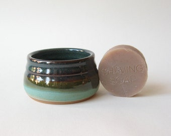 Shaving Bowl with Handmade Shaving Soap