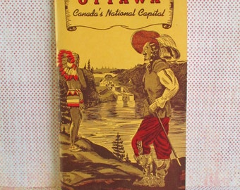 Vintage Guide Booklet - Ottawa Canada's National Capital