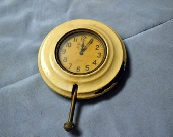 Vintage Elgin Eight Day Car Clock
