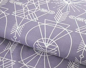 Wander Native in Stone by Joel Dewberry - fabric by the yard starting at a quarter yard