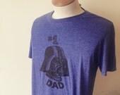 Men's Darth Vader T-shirt, Number 1 Dad T-shirt, Star Wars Fan T-shirt, Unisex T-shirt Free Domestic Shipping