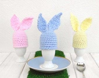 Crochet Egg Cosy Pattern Download, Crochet Pattern Download, Easter Bunny Crochet Pattern, Beginner Crochet Pattern, Crochet Egg Cup Cozy