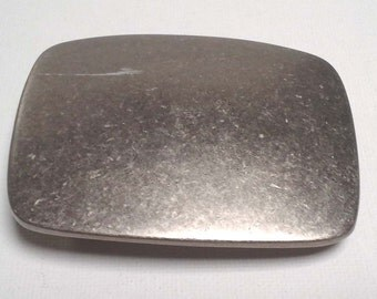 Silver Metal Gray Belt Buckle, Pendant, Brooch, Curtain Pull Back, Home Decor, Napkin Ring, Art Projects, Wall Hanging