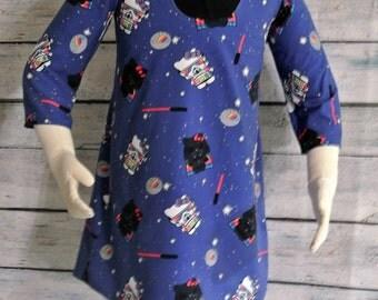 Darth Kitty Wonderland Dress- Girls size 4t