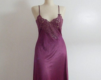 Lily My Love Gown 70s 80s Vintage XS Extra Small