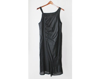 1990's Asymmetric Midi Tank Dress