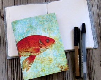 fishy fish journal a travel inspirational journal gift under 20 by tremundo