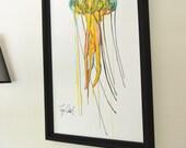 Jellyfish Original Painti...