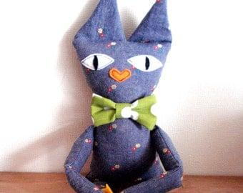 Mr. Cat - Cat Soft Toy -  Cat Plush Doll