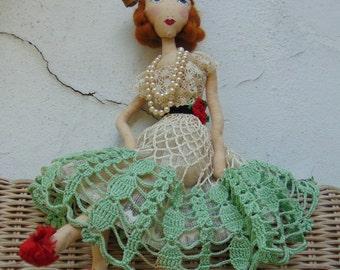 Wendy Grey - Tea Doily Dolly