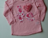 valentine tee!  can you say, love it?