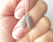 NEW - Ribcage Necklace - Solid 925 Sterling Silver Anatomical Charm - Free Domestic Shipping